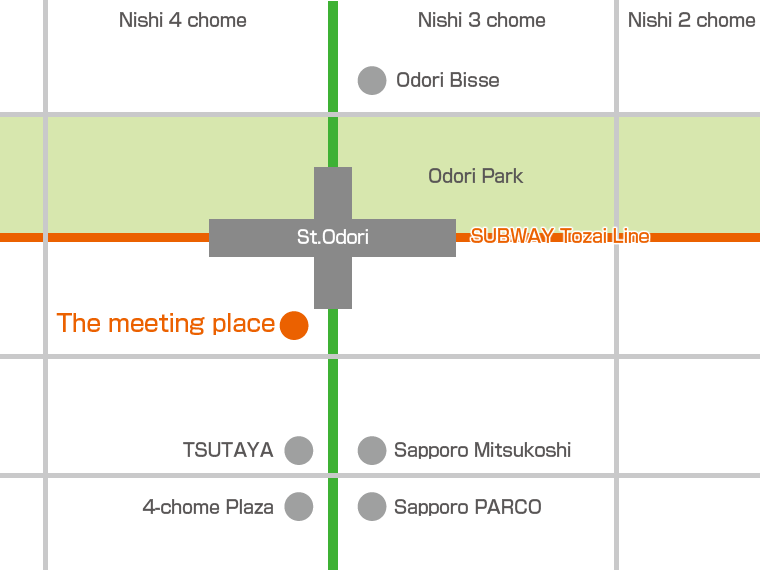 The meeting place Map